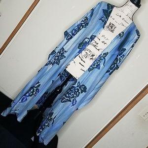 Ming Design hand batik cover up